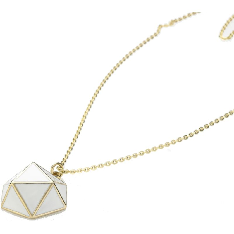 Ladies STORM Gold Plated Geo Necklace from STORM Jewellery