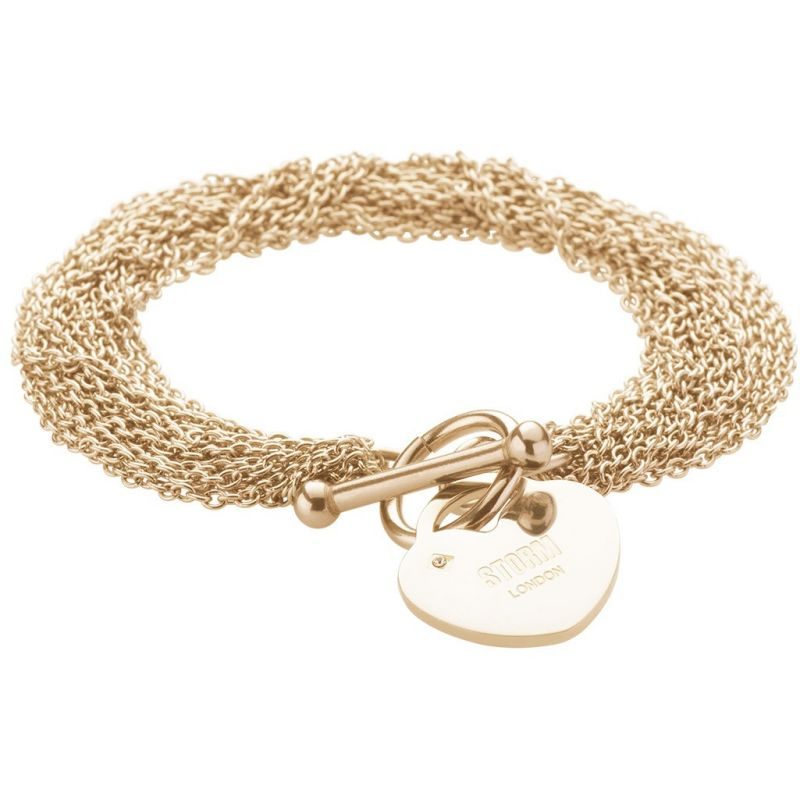 Ladies STORM Gold Plated Lorello Bracelet from STORM Jewellery