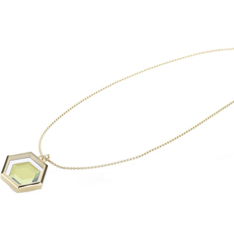Ladies STORM Gold Plated Mimoza-X Necklace from STORM Jewellery