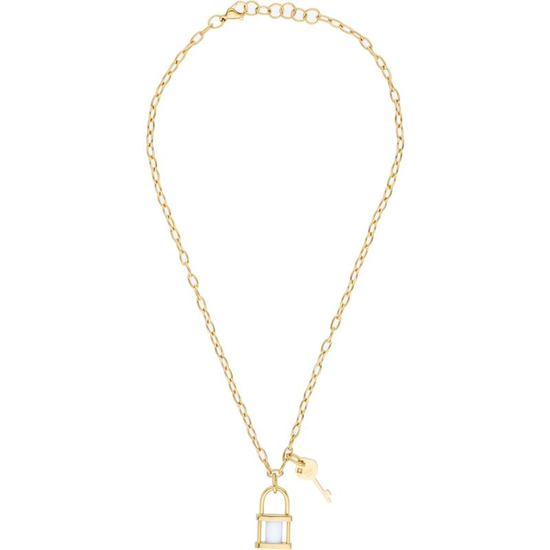 Ladies STORM Gold Plated Onyxia Necklace from STORM Jewellery