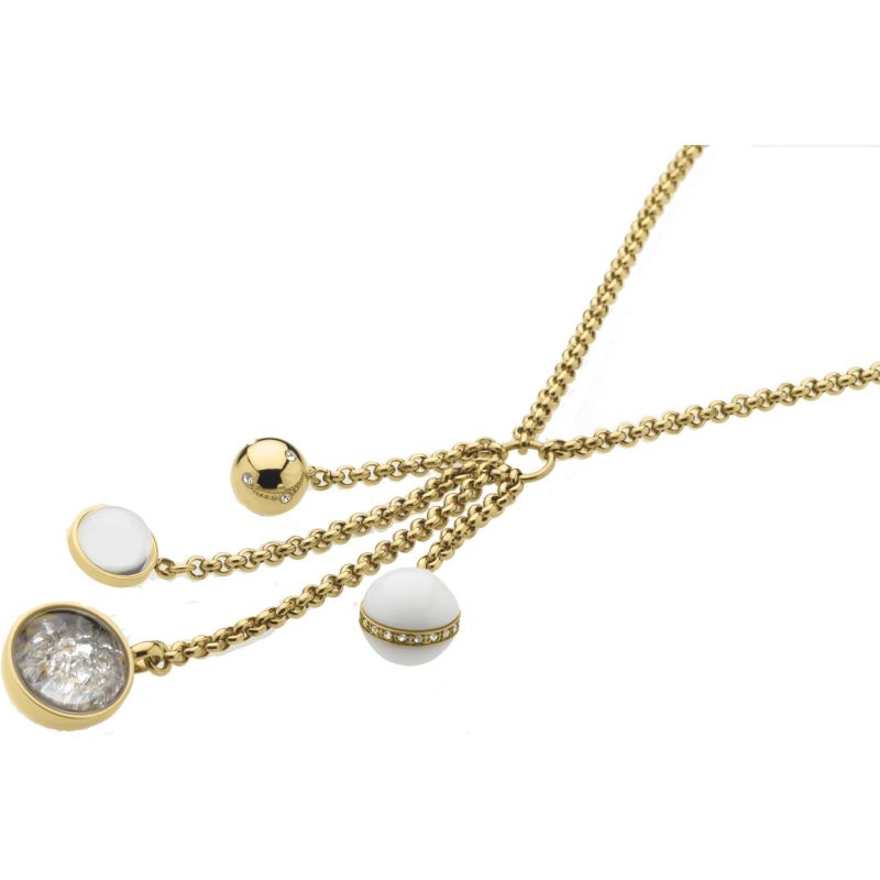 Ladies STORM Gold Plated Solar Necklace from STORM Jewellery