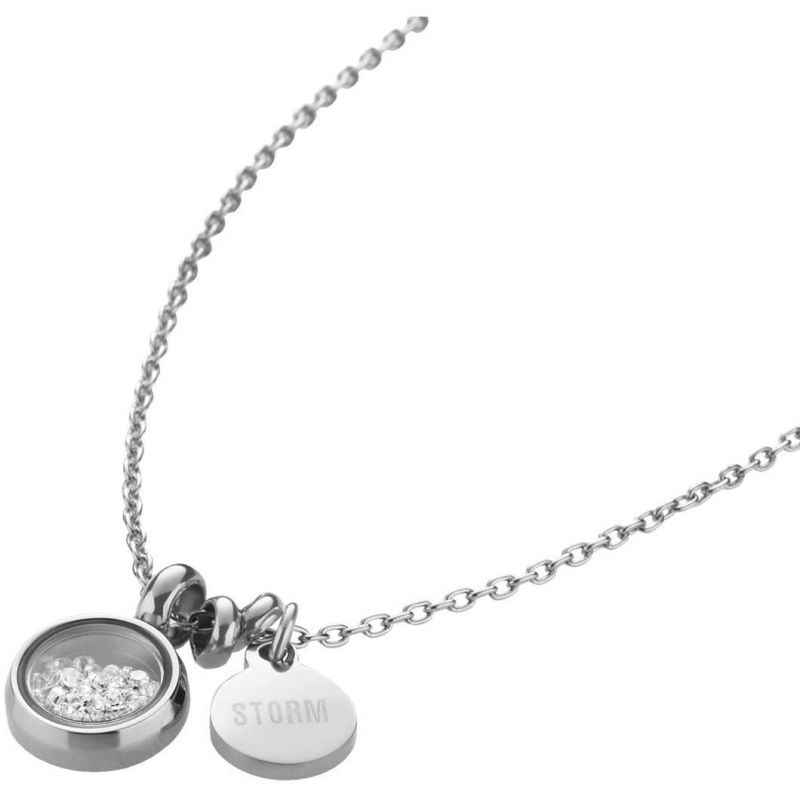 Ladies STORM PVD Silver Plated Mimi Necklace from STORM Jewellery