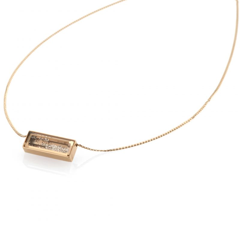 Ladies STORM PVD rose plating Bazelle Necklace from STORM Jewellery