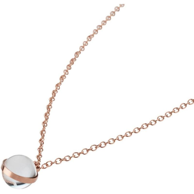 Ladies STORM PVD rose plating Isla Necklace from STORM Jewellery