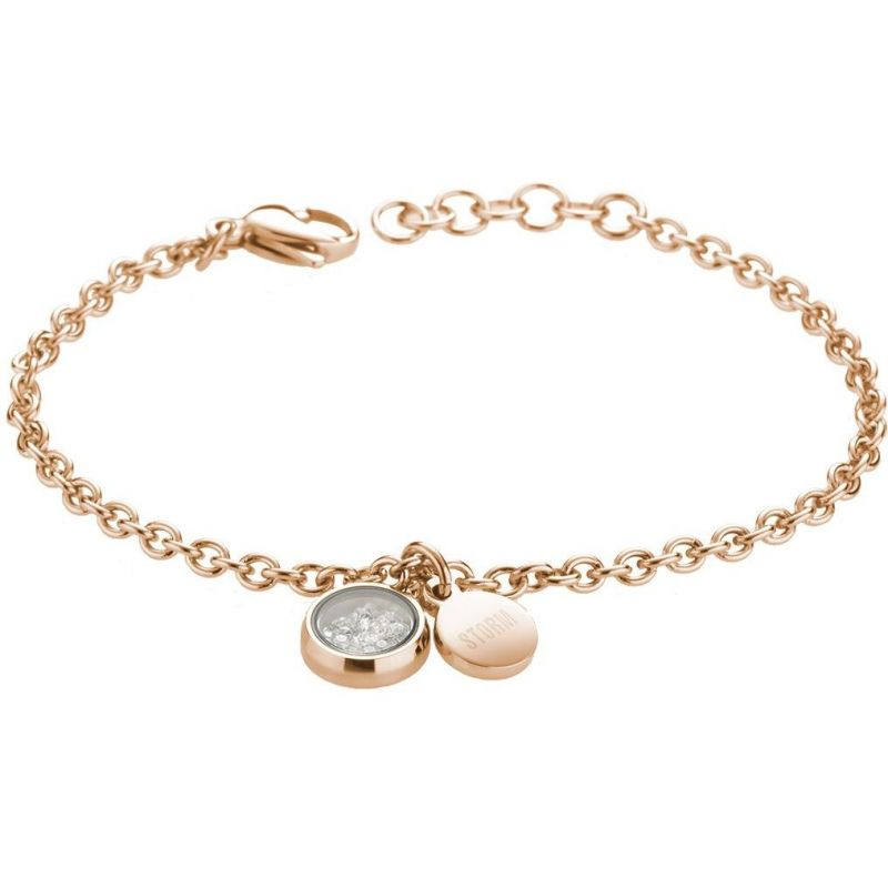 Ladies STORM PVD rose plating Mimi Bracelet from STORM Jewellery