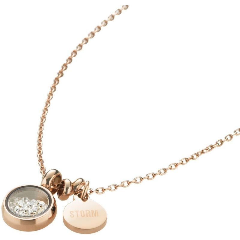 Ladies STORM PVD rose plating Mimi Necklace from STORM Jewellery
