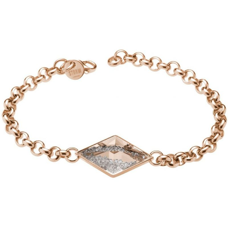Ladies STORM PVD rose plating Razzle Bracelet from STORM Jewellery