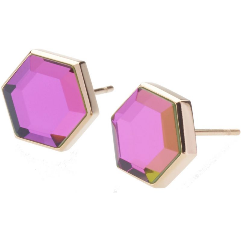 Ladies STORM Rose Gold Plated Mimoza Earrings from STORM Jewellery