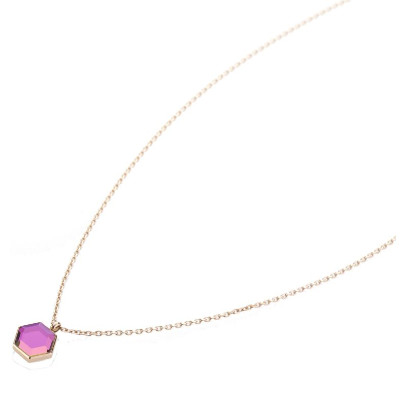 Ladies STORM Rose Gold Plated Mimoza Necklace from STORM Jewellery