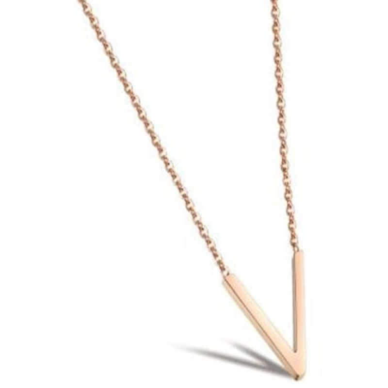 Ladies STORM Rose Gold Plated Trima Necklace from STORM Jewellery