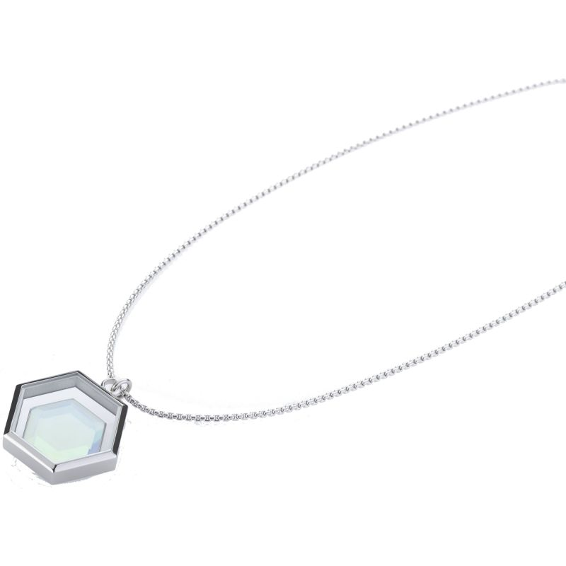 Ladies STORM Silver Plated Mimoza-X Necklace from STORM Jewellery