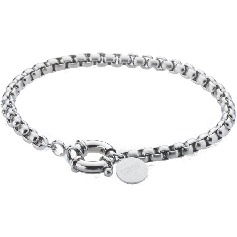 Ladies STORM Silver Plated Rolo Bracelet from STORM Jewellery