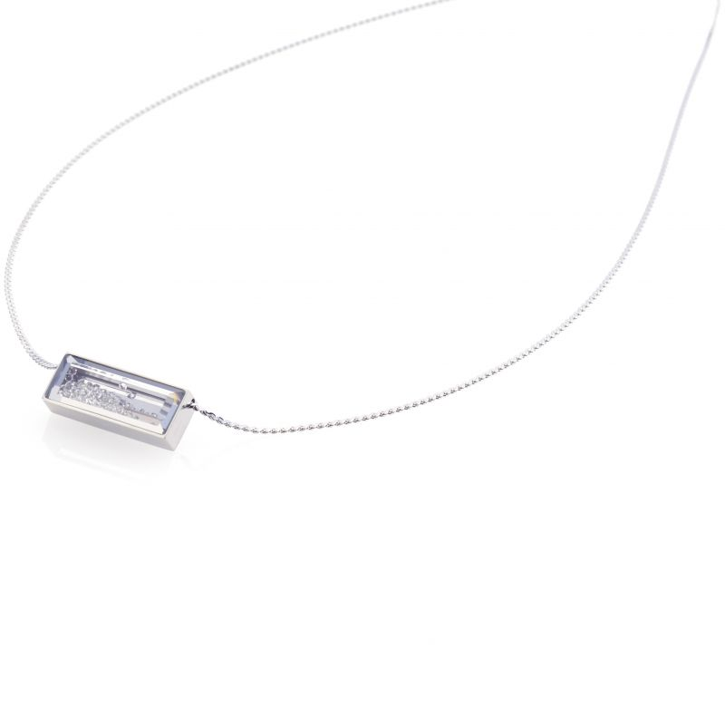 Ladies STORM Stainless Steel Bazelle Necklace from STORM Jewellery