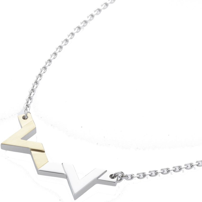 Ladies STORM Two-tone steel/gold plate Venus Necklace from STORM Jewellery