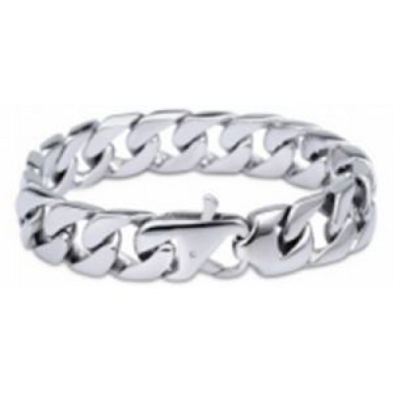 Mens STORM Stainless Steel Combi Bracelet from STORM Jewellery