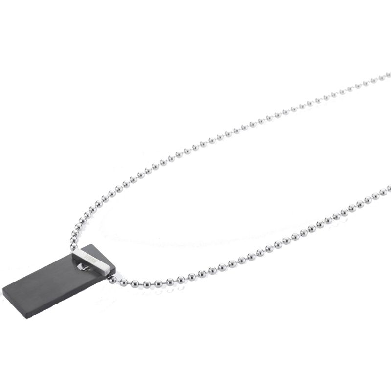 Mens STORM Stainless Steel Kempa Necklace from STORM Jewellery