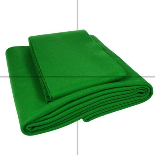 Pool Cloth, 7 x 4 Bed & Cushions, English Green from STRACHANS