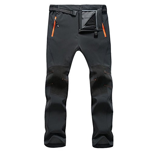 SUKUTU Men's Waterproof Windproof Outdoor Sports Pants Climbing Pants Soft Shell Quick-dry Breathable SU010 from SUKUTU