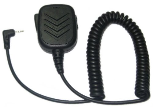 SUNDELY® Lapel Remote Speaker Shoulder / Handheld Mic with PTT for Binatone Radios Action 950 1000 Terrain 150 200 550 650 750 Expedition 1-pin from SUNDELY