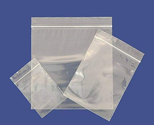 "1000 3"" x 7.5"" SURELOCK Grip Seal Plastic Poly Ziplock Bags - Free DELIVERY (3"" x 7.5"") from SURELOCK"