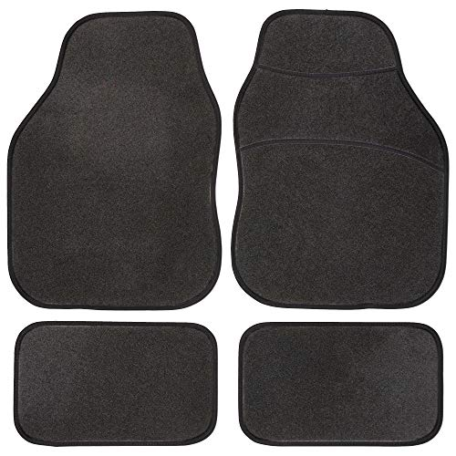 Safe Travel 27500 Universal Car Mats, Right Hand Drive (RHD), Carpet Heel, Black Binding from Safe Travel
