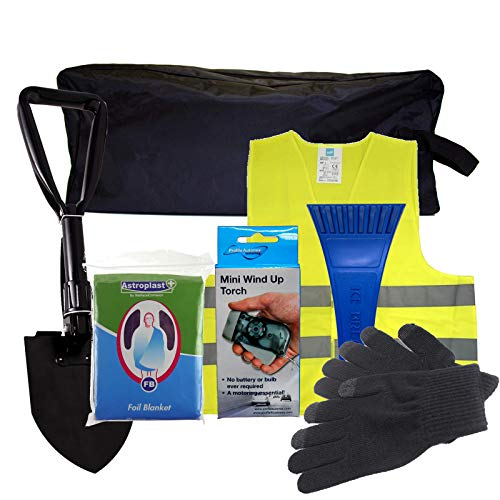 SafeTravel Winter Motoring Emergency Breakdown Kit Gold from Safe Travel