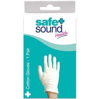 Safe and Sound Cotton Gloves Small 1 pair from Safe and Sound