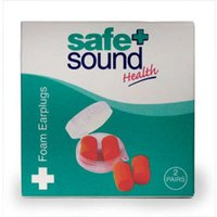 Safe and Sound Foam Earplugs 2 Pairs from Safe and Sound