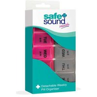 Safe and Sound Health Detachable Weekly Pill Organiser from Safe and Sound