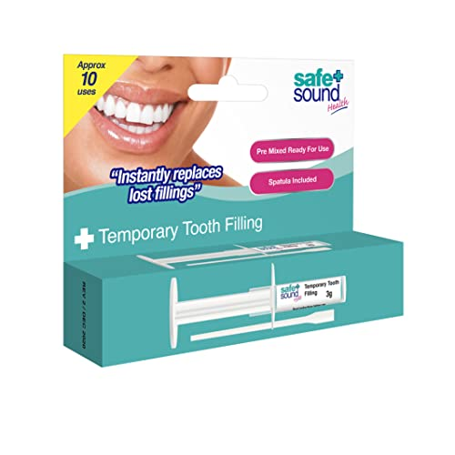 Safe and Sound Temporary Tooth Filling Kit from Safe + Sound