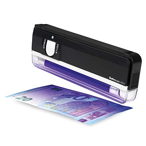Safescan 40H - Portable UV counterfeit detector for the verification of banknotes from Safescan
