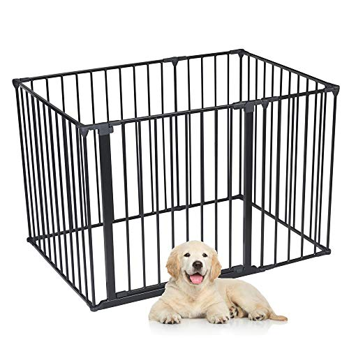 Safetots Dog Pet Pen Black 72 x 105 cm from Safetots
