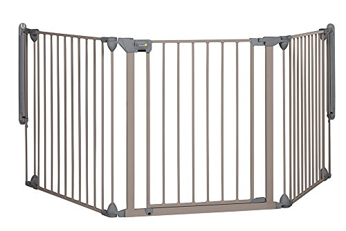 Safety 1st Modular 3 Multi-Panel Gate - Light Grey from Safety 1st
