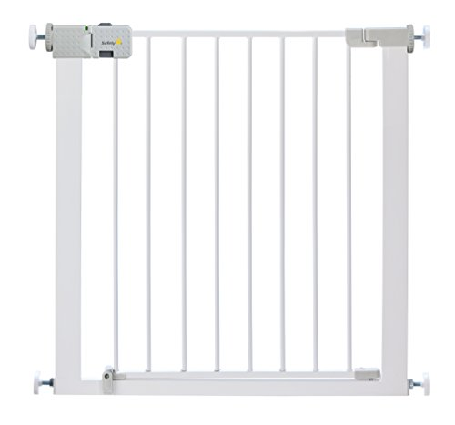 Safety 1st Secure Tech Simply Close Metal Gate, White from Safety 1st