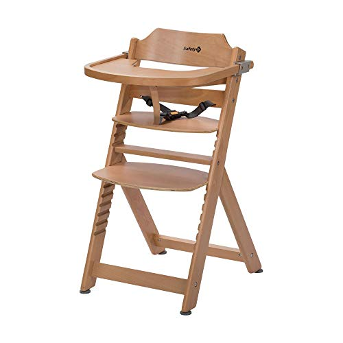Safety 1st Timba Wooden Highchair, Natural from Safety 1st