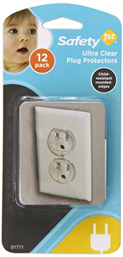 Ultra Clear Outlet Plugs from Safety 1st