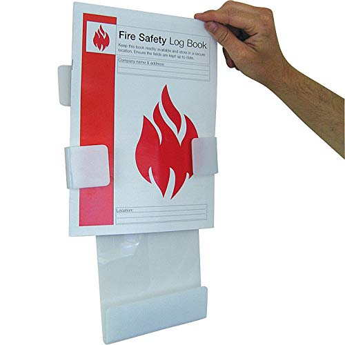 Safety First Aid Group Fire Safety Log Book with Holder from Safety First Aid Group