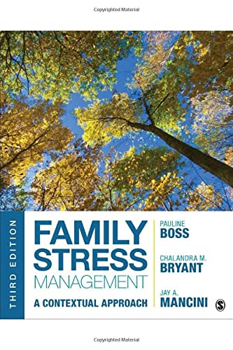 Family Stress Management: A Contextual Approach from SAGE Publications, Inc