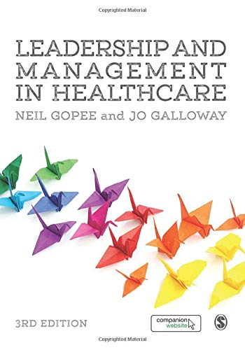 Leadership and Management in Healthcare from Sage Publications Ltd