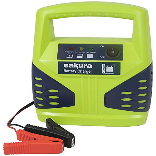 Sakura SS3629 Battery Charger, 4 Amp from Sakura