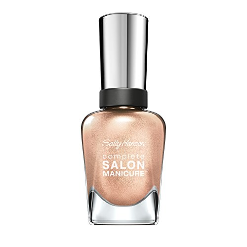 Sally Hansen Complete Salon Manicure Nail Polish, Metallics and Glitters, You Glow Girl from Sally Hansen