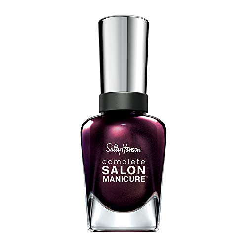 Sally Hansen Complete Salon Manicure Nail Polish, Pink and Red Shades, 14.7 ml, Belle of the Ball from Sally Hansen