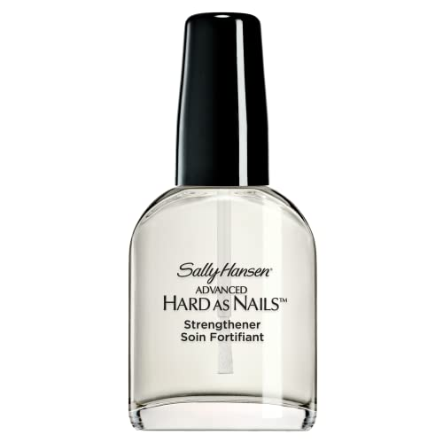 Sally Hansen Hard as Nails with Nylon Nail Treatment Formula, Packaging May Vary, Nude, 13.3 ml from SALLY HANSEN