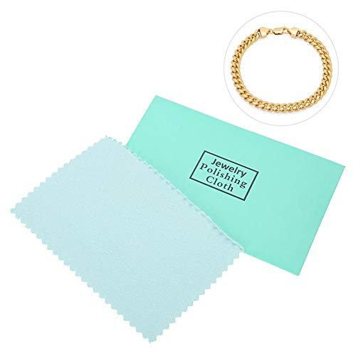 10PCS Silver Polishing Cloth Cleaner Jewelry Cleaning Cloth Anti-Tarnish Tool for jewelry Gold Platinum and Sterling Silver copper from Salmue