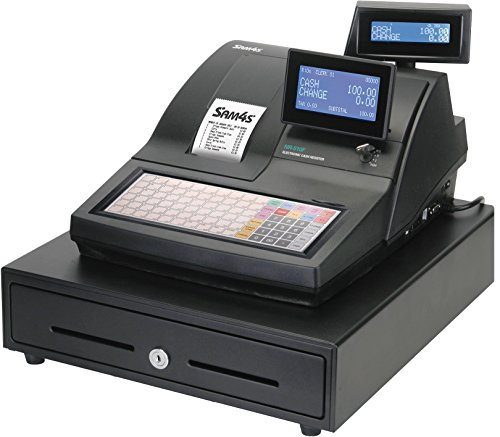 elePOS® SAM4S Electronic Cash Register NR-510F Single Station from Sam4s
