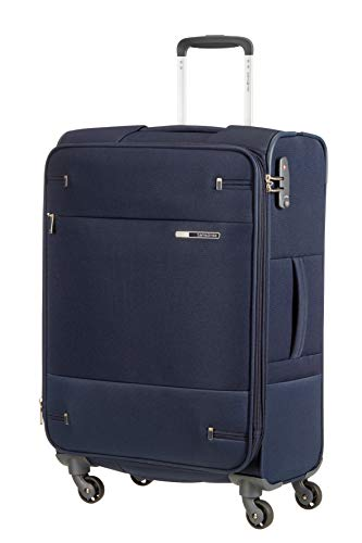 SAMSONITE Base Boost - Spinner 66/24 Expandable Hand Luggage, 66 cm, 67.5 liters, Blue (Navy Blue) from Samsonite