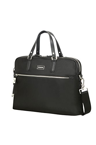 "SAMSONITE Karissa Biz - Bailhandle 15.6"" Briefcase, 40 cm, 10.5 liters, Black from Samsonite"