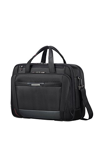 "SAMSONITE LAPT.BAILHANDLE 17.3"" EXP (Black) -PRO-DLX 5  Hand Luggage, 33.0 cm, Black from Samsonite"