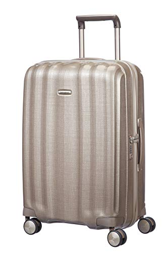 Samsonite Lite-Cube - Spinner M Suitcase, 68 cm, 67.5 Litre, Beige (Ivory Gold) from Samsonite