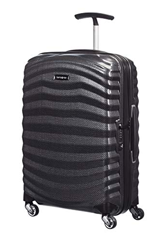 Samsonite Lite-Shock - Spinner S Hand Luggage, 55 cm, 36 Litre, Black (Black) from Samsonite